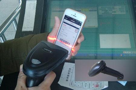 车站扫描枪扫码检票设备的应用